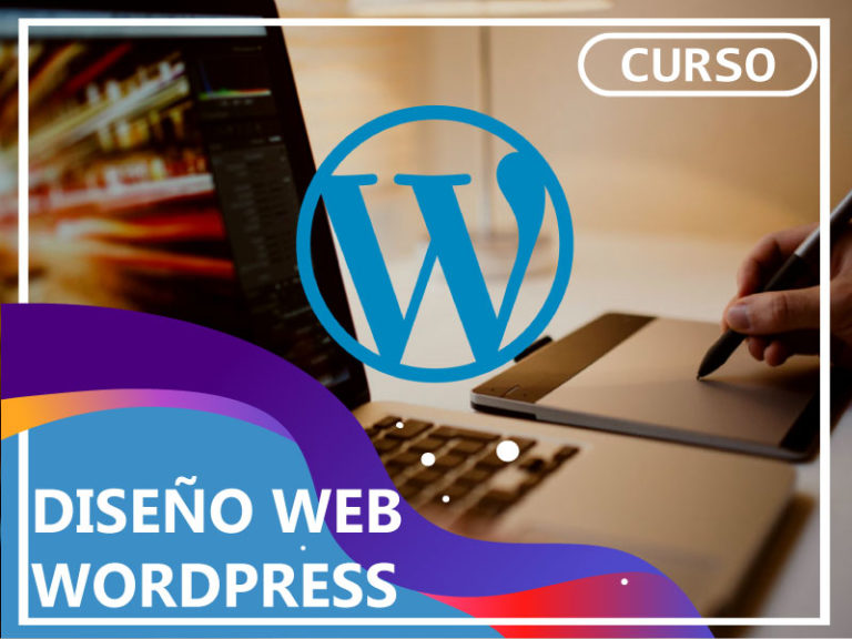 diseño web cursos wordpress